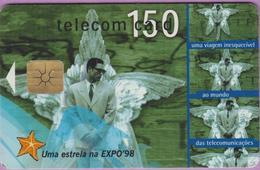 Télécarte °° Portugal - 150 - Estrela Uma Viagem Expo 98 - LG1 - RV 5718 - Portugal