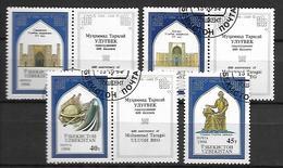 OUZBEKISTAN    -   1994 .   Y&T N° 38 à 41 Oblitérés.  Série Complète. - Ouzbékistan