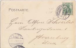 Bas Rhin, CP Gruss (aus Wangen) Obl Marlenheim (T148 Marlenheim ***) Sur 5pf Le 27/8/04 Pour Strasbourg - Alsace-Lorraine