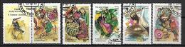 OUZBEKISTAN    -   1995 .   Y&T N° 55 à 59 Oblitérés.  Série Complète.  Contes Folkloriques - Ouzbékistan