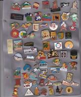 Lot De 67 Pin's Des PO (66) - Badges