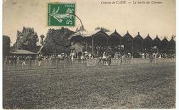 Courses De Caen - La Sortie Des Chevaux - Caen