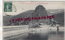 42 - ROCHETAILLEE - BARRAGE -   ENVIRONS DE SAINT ETIENNE - Rochetaillee