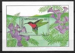 """GRENADA GRENADINES 1988 Birds """"HUMMINGBIRDS"""" - Hummingbirds"""