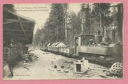 67 - 88 - PRAYE - DONON - Feldbahn - Waldbahn - Locomotive - Matériel Abandonné Par Les Allemands - Guerre 14/18 - Unclassified