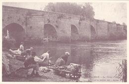 CPA - 78 - LIMAY - Le Vieux Pont - Retirage Grand Format Sur Papier Genre Velin - Limay