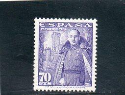 ESPAGNE 1948-54 * - 1931-50 Neufs
