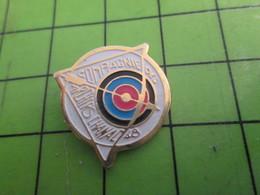 313J Pin's Pins : Rare Et Belle Qualité : THEME SPORTS / TIR A L'ARC CHANAC ARCHERS CIBLE FLECHE - Archery