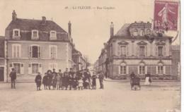 LA FLECHE (72)  Ecoliers Rue Couchot - La Fleche
