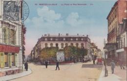 MANTES-la-JOLIE  (78) Place Et Rue Nationale - Mantes La Jolie