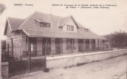 ORMOY  (89) Colonie De Vacances De La Police . Infirmerie - Autres Communes