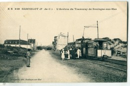 62 - Hardelot : L' Arrivée Du Tramway De Boulogne Sur Mer - Frankreich