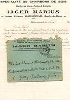 13 - Chateaurenard IAGER MARIUS Charbon De Bois De Pierre Briquettes - France