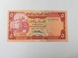 YEMEN 5 RIALS - Yémen