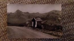 CPSM CREST VOLAND SAVOIE ALT 1230 M CHAPELLE DES REYS MONT CHARVIN ROUTE DU COL DES SAISIES ED EDY 1960 - Francia
