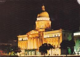 Postcard The Supreme Court By Night Singapore  My Ref  B23183 - Singapore