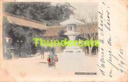 CPA JAPAN JAPON NAGASAKI  OSUWA TEMPLE - Autres