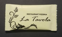 Sachet De Sucre, Restaurant Pizzeria La Tavola, Ulcinj Ulqin, Dulcigno, Montenegro - Sucres