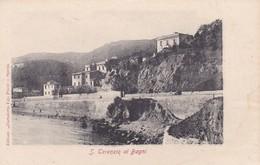 CARTOLINA - POSTCARD - LA SPEZIA - S. TERENZIO AI BAGNI -  FRAZIONE DI DI LERICI - La Spezia