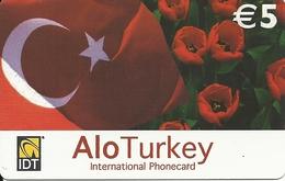 Germany: IDT Alo Turkey - Germany