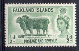 FALKLAND ( POSTE ) : Y&T  N°  116  TIMBRE  NEUF  SANS  TRACE  DE  CHARNIERE  . - Falkland