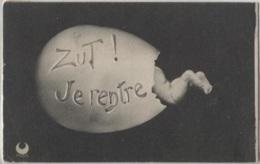 CPA - FANTAISIE Illustrée - BEBE Mis En Scène - Edition Croissant - Bébés
