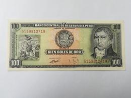 PERU 100 SOLES DE ORO 1974 - Perù