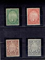 TP 1933 - VATICAN -  N° 40 à 43 Xx - NEUFS - Neufs