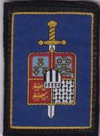 Écusson Tissu Militaire Ou Autre:  (Fmt Largeur 06 Hauteur 08) - Ecussons Tissu