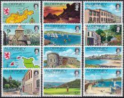 ALDERNEY 1983 Mi-Nr. 1/12 ** MNH - Alderney
