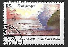 AZERBAIDJAN   -   1992 .   Non émis.  Mer Caspienne - Azerbaïdjan