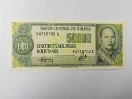 BOLIVIA 5000 PESOS 1984 - Bolivie