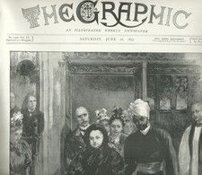 THE GRAPHIC  N.1439 JUNE 26, 1897. 36 Pages. Jubilee Celebrations Queen Victoria - Magazines & Newspapers