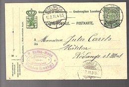 1911 J.P. Raths-Maas Epicerie Aubergiste VICHTEN (242) - Entiers Postaux