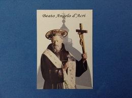 Santino - Holy Card - Beato Angelo D'Acri - Santini