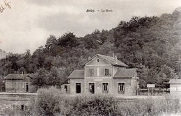 BRIEY  -  La Gare  -  Dos Non Divisé - Briey