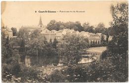 Court-St-Etienne NA18: Panorama Vu Du Raumont 1928 - Court-Saint-Etienne