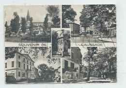 Caussade (82) : 5 Vues Dont Le Boulevard Léonce Granier En 1951 GF. - Caussade
