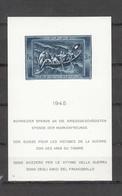 1945 EMISSIONS AVEC SURTAXE   BLOC  N°21   NEUF*     COTE 250 FRS VENDU A 15% 37.00 FRS.  CATALOGUE ZUMSTEIN - Blocks & Sheetlets & Panes
