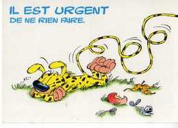 BATEM Marsupilami N°77 Il Est Urgent De Ne Rien Faire - Künstlerkarten