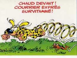 BATEM Marsupilami N°78 Chaud Devant Courrier Express Survitaminé - Künstlerkarten