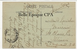 29 - BREST - L'Ouest-État +++++ US Army / Soldier's Mail / APO ++++ To Marissa, IL, USA, 1918 - Brest