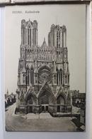 AK Reims Kathedrale Feldpost 1916 Gebraucht #PF227 - France