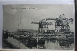 AK Harnes Le Rivage Et Les Grues Feldpostkarte 1916 Gebraucht #PF410 - France