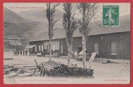 09 AUZAT : Les Bureaux De L'usine Près De Vicdessos , Labouche . - Francia