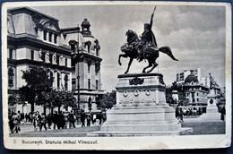 ROMANIA - BUCURESTI , STATUIA MIHAI VITEAZUL - Rumänien