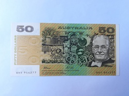 AUSTRALIA 50 DOLLARS 1983 - Emissioni Della Banca Governativa 1910