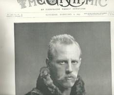 THE GRAPHIC N.1419 FEBRUARY 6, 1897. 36 Pages. Armenia, Shah Persia, Turkey, Matabele, Bombay India, Alaska, Benin - Revues & Journaux