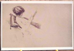 LES DESHABILLES PARISIENS ANNETTE FEMME NUE PIN UP EROTISME SCAN R/V - Drawings