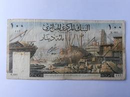 ALGERIA 100 FRANCS 1964 - Algeria